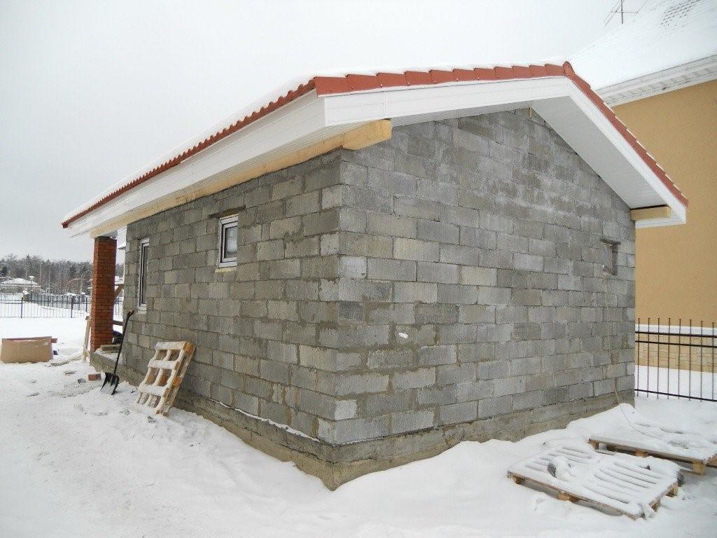 Строительство сарая
