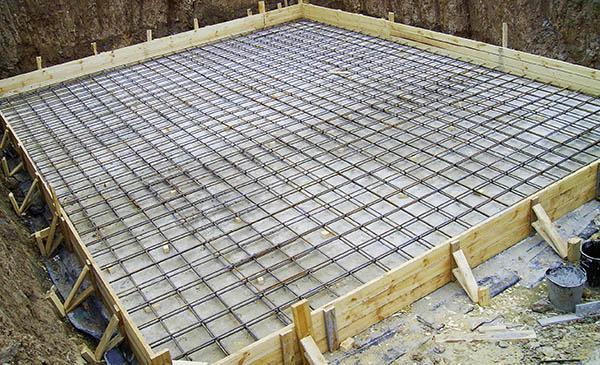 залитый бетоном