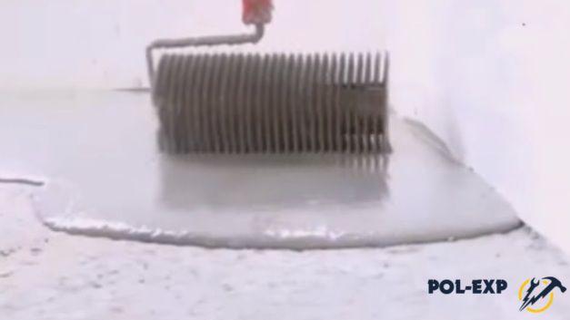 Использование игольчатого валика