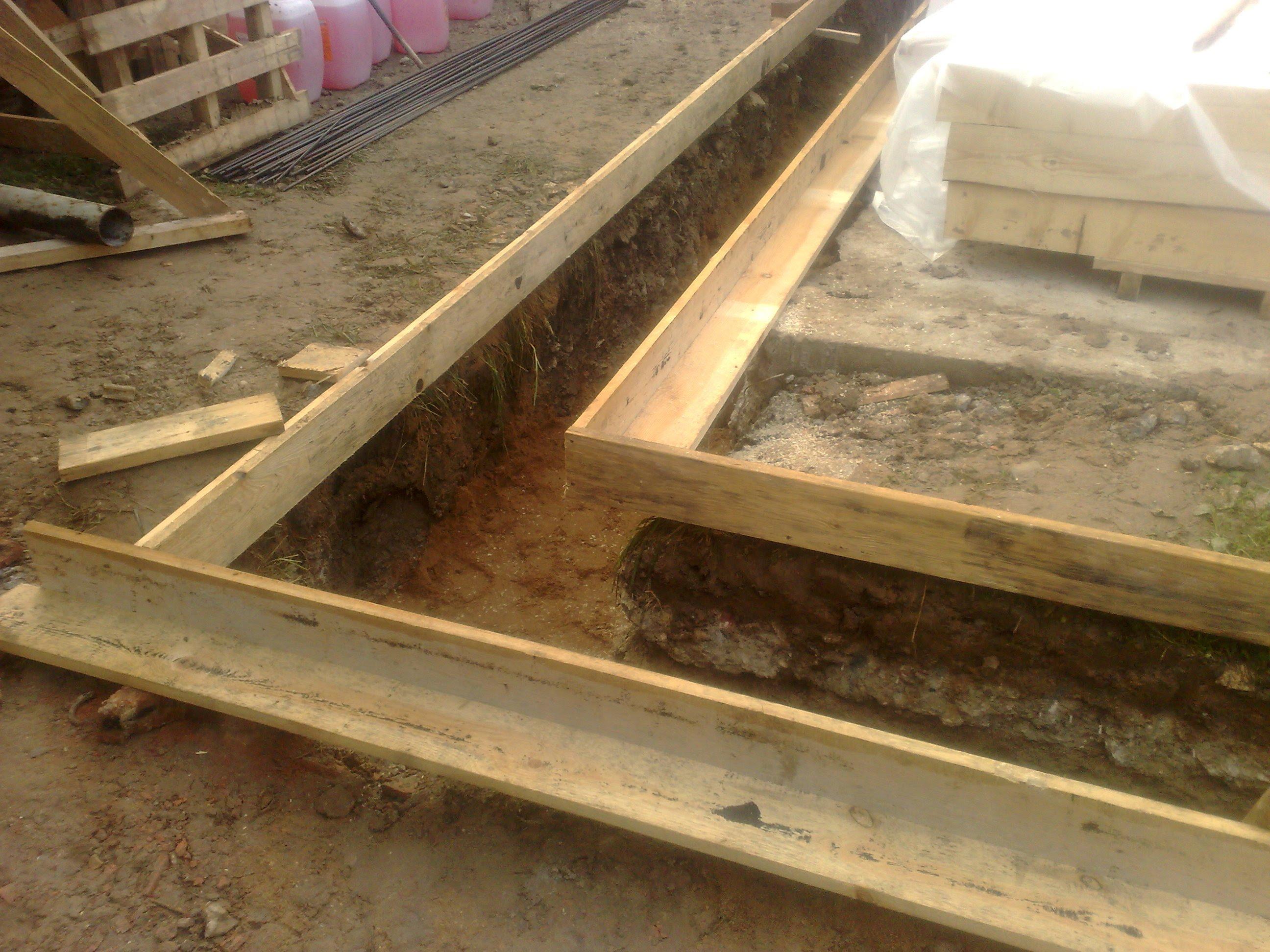 Она представляет собой строительный короб, который придает форму бетонным «лентам» и демонтируется после застывания