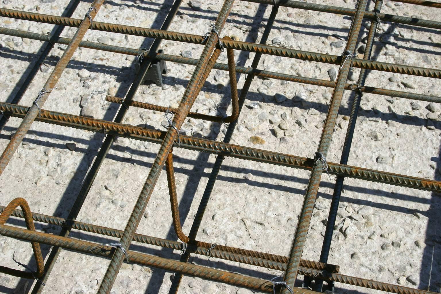 Армирование бетонного пола под заливку