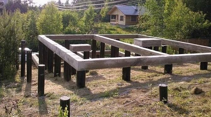 Свайные фундаменты для газобетона