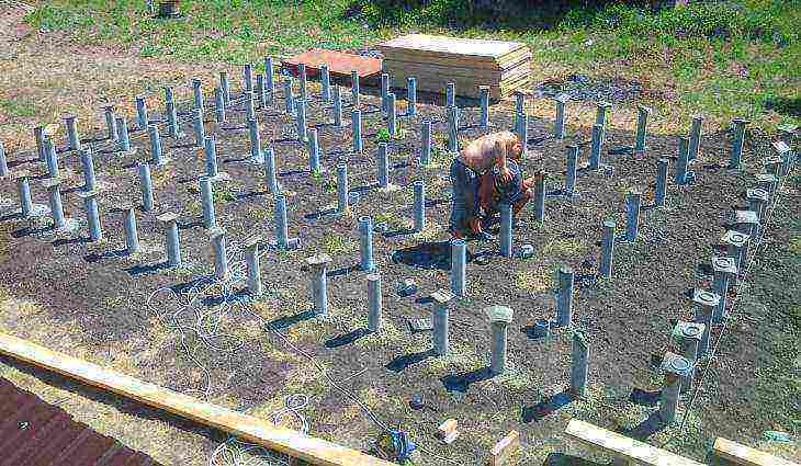 как залить фундамент под дом своими руками без опыта строительства