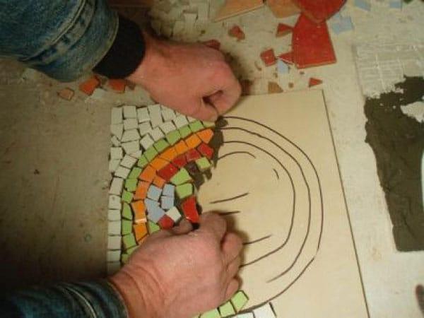 Мозаика для дорожки