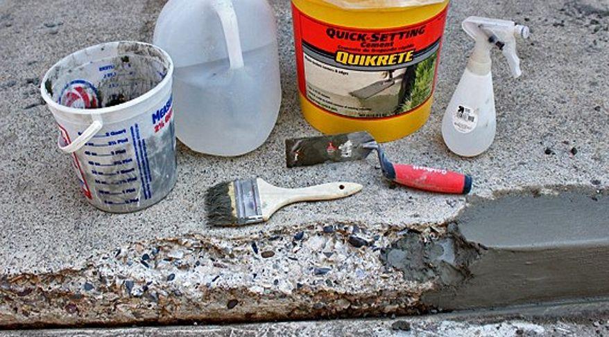 Необходимые материалы и инструменты для ремонта бетонного крыльца