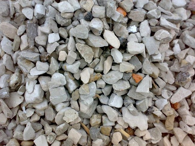 Secondary gravel - it crushed concrete