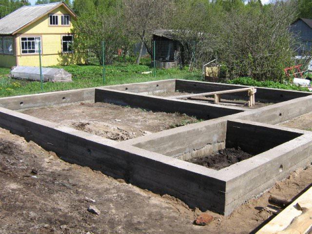 Фундамент под дом