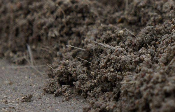 Армирование полусухой стяжки производится посредством добавления в раствор фиброволокна