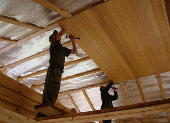 виды отделки потолков в доме