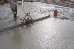 Приготовление и укладка бетонной смеси