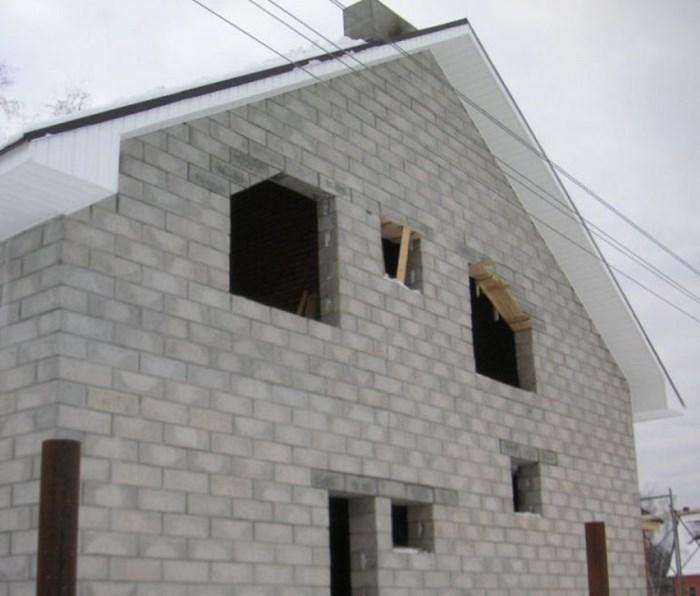 как построить дом из блоков